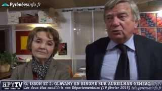 preview picture of video '[DEPARTEMENTALES 2015] J. Glavany et G. Isson Aureilhan (19 février 2015)'