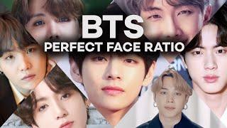 BTS PERFECT FACE RATIO l Golden Ratio l Army l Lowcostedit