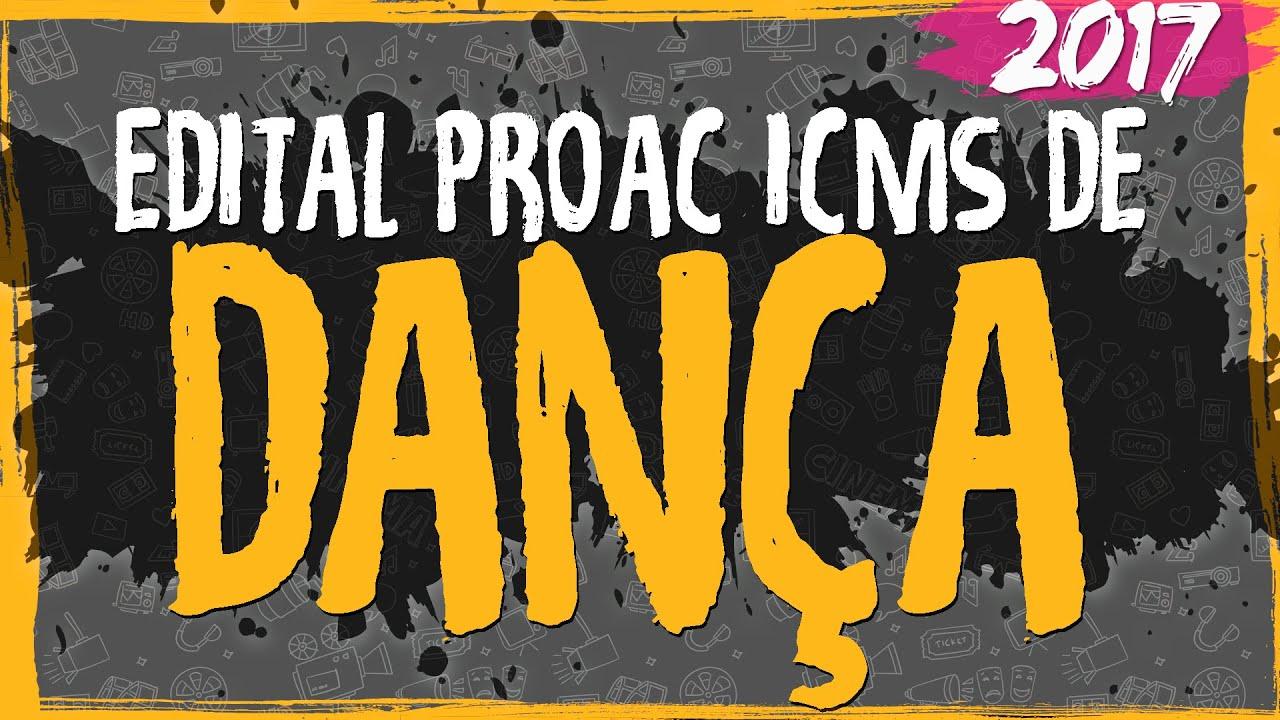 Edital ProAC 2017 de Dança