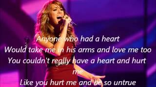 Angie Miller-Anyone Who Had a Heart-American Idol 12[Lyrics]