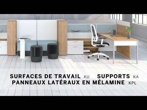 Vidéo d'installation 6 - Surfaces de travail