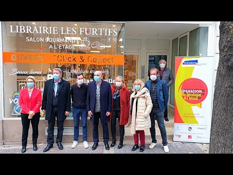 Inauguration de la librairie Les Furtifs