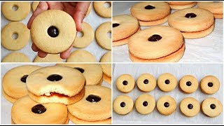 jam biscuits recipe with plain flour