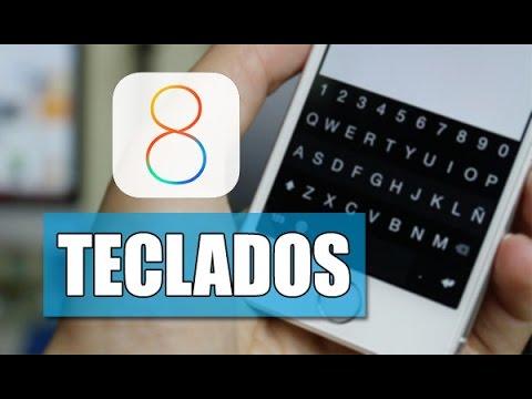 Los Mejores Teclados para iOS 8, iPhone, iPod & iPad