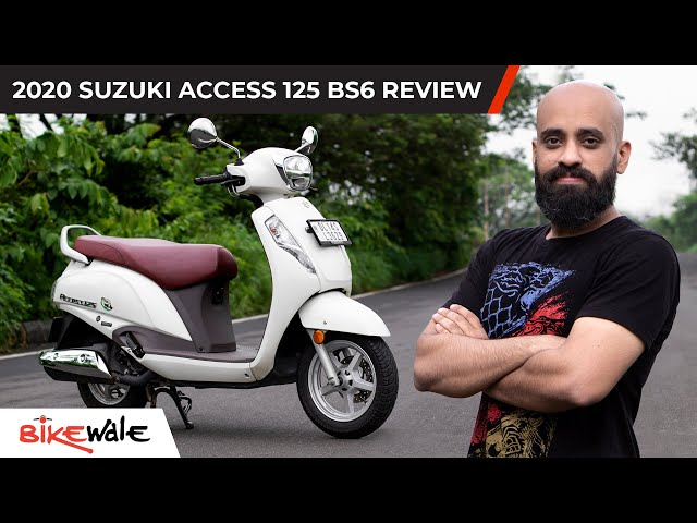 2020 Suzuki Access 125 BS6 Review | What makes it India's best selling 125cc scooter | BikeWale