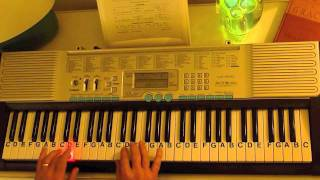 How to Play ~ Saw A Gangsta Cry ~ Andre Nickatina ~ LetterNotePlayer ©