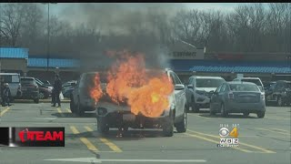 I-Team: Jiffy Lube Denies That Oil Change Caused SUV Fire