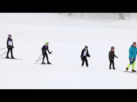 Τα χιονοδρομικά κέντρα της Ευρώπης ετοιμάζονται για την κλιματική αλλαγή…