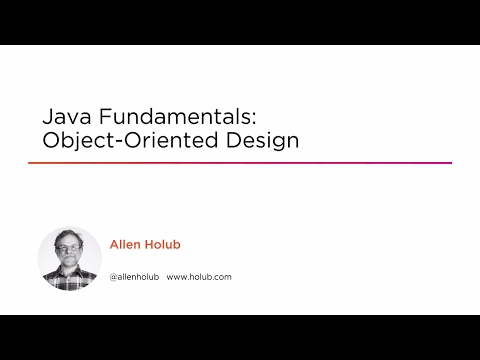 Course Preview: Java Fundamentals: Object-oriented Design ...
