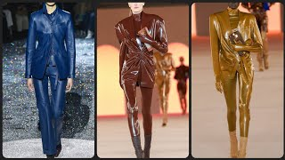 Leather Dress Outfit Designs For Women 2020 | The Best Fashion Experties