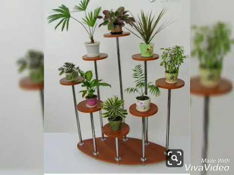 Красивые подставки для комнатных растений.🌿🤗🌿