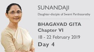 Bhagavad Gita Chapter - VI Chennai 2019, Day 4