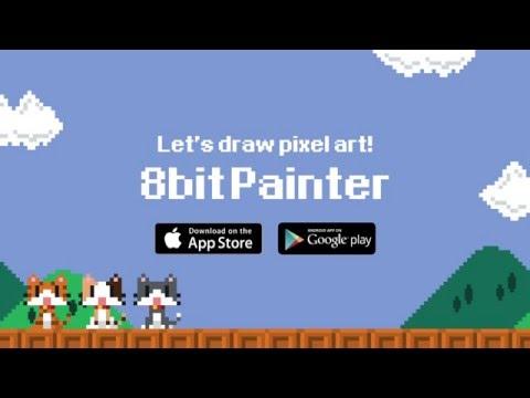 Vídeo do Pixel Art Criador 8bit Pintor
