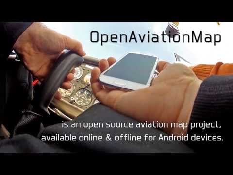 Video of Open Aviation Map