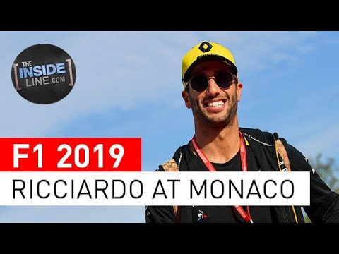 Image: Watch: Daniel Ricciardo, the Monaco expert