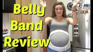 Loving Comfort Maternity Belly Band Review And How To Put It On