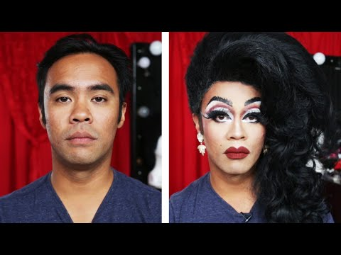 Men Get Transformed By Drag Queens (видео)
