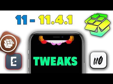 TOP 5 NEW TWEAK iOS 11 / 11 4 Jailbreak - Unc0ver & Electra