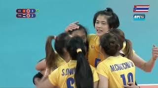 วอลเลย์ย์บอลหญิง ซีเกมส์ 2019 ไทย vs เวียดนาม