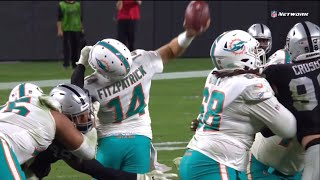 """""""The Miami Miracle 2.0"""" Dolphins Vs Raiders INSANE Final Minutes & Crazy Ending 