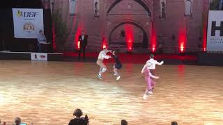 Helsingborg Nordic Championships 2018 Lindy Hop Main Class ANDRÉN Nils   LOCATELLI Bianca & EDLUND V