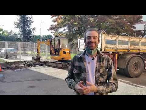 A Varese si spacca il cemento per fare spazio a un orto urbano
