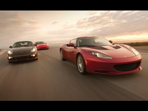2010 Chevrolet Corvette Grand Sport vs Lotus Evora vs Porsche Cayman S