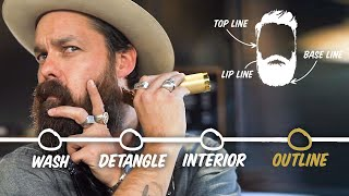 How to Trim Your Beard at Home (4 Step Tutorial) | GQ