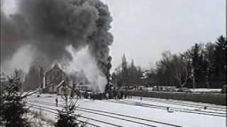 preview picture of video 'Rauch, Dampf und Schnee - Sonderzug nach Warstein'