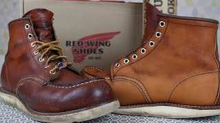 RECONDITIONING YOUR RED WING BOOTS: Saddle Soap, Conditioning & Oiling