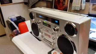 GPO Brooklyn Boombox Retro Gettoblaster (recension / review)