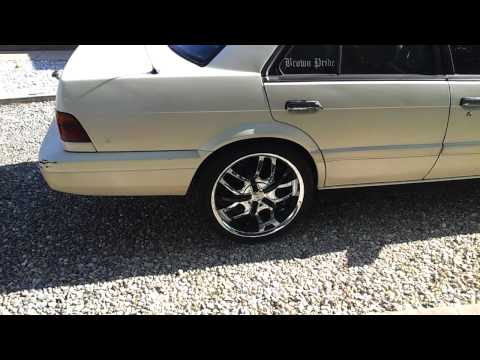 1992 Nissan Stanza on 18s and underglow lights