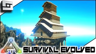 ARK: Survival Evolved   BASE BUILD CONTINUES! S3E63 ( Gameplay )