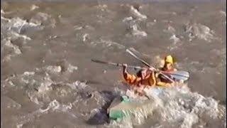 Черемош - сплав на байдарках, 2000 г.