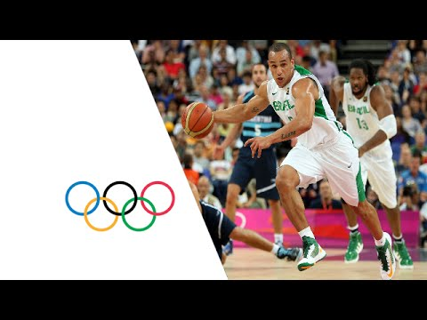 Basketball Men's Quarter-Finals Brazil vs Argentina - Full Replay | London 2012 Olympics
