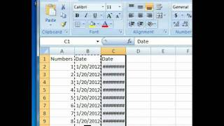 Biometrics Tutorial 01 - Basic Excel