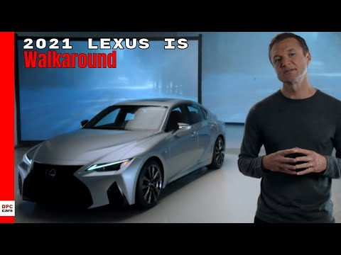 External Review Video nVcE9fu6EBQ for Lexus IS Sedan (3th gen, XE30, 2020 facelift)