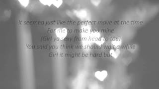 Chris Brown-Wait For You (Lyrics)