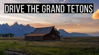 🏔️ Drive Through Grand Teton National Park - Full Tour + The Best Scenic Stops