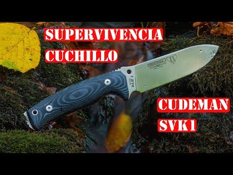 Cuchillo De Supervivencia Con Kit - Cudeman SVK1