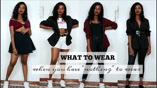 """50 OUTFIT IDEAS FOR WHEN YOU HAVE """"NOTHING"""" TO WEAR"""