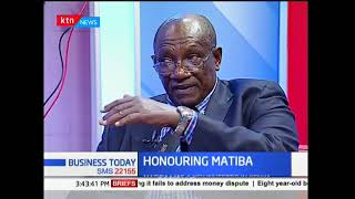 Business veteran Samuel Wa Njuguna eulogies the late Kenneth Matiba: Business Today