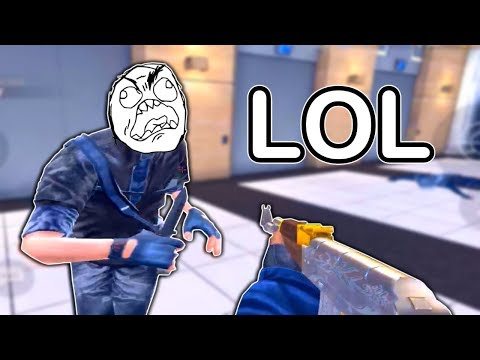 Bullying noobs on Critical Ops