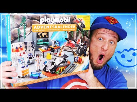 "PLAYMOBIL® 9263 Adventskalender /""Spy Team Werkstatt/"" NEU /& OVP"