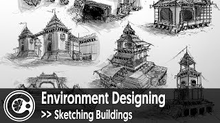 Environment Designing - Sketching Buildings