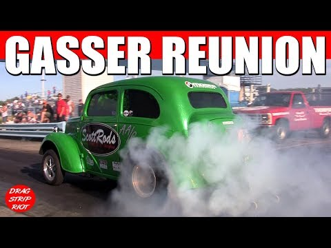 2016 Gasser Reunion Ohio Outlaw AA/Gassers Straight