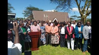 Ruto's Rift Valley allies now back BBI - VIDEO