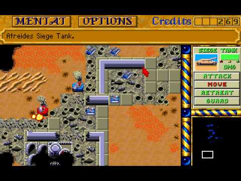 Dune II The Battle For Arrakis (Amiga) longplay