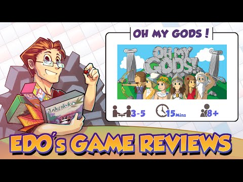Edo's Oh My God's Board Game Review