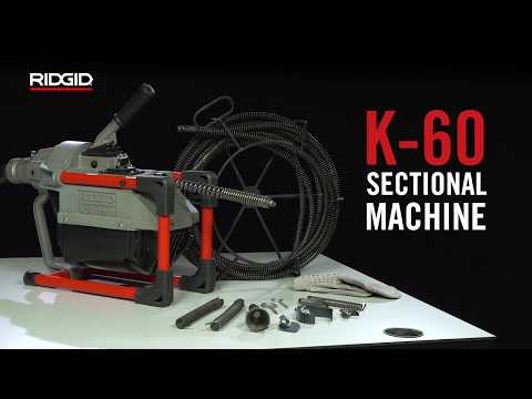 RIDGID K-60 Sectional Machine